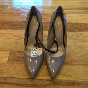 Zara light mauve heels Size 7.5